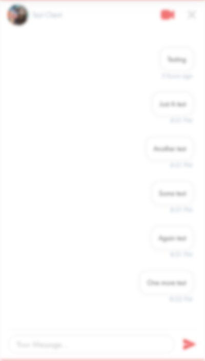 Large Messenger Layout Blurred - Please choose your plan